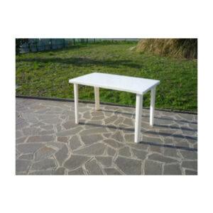tavolo in resina antiurto bianco 120x70