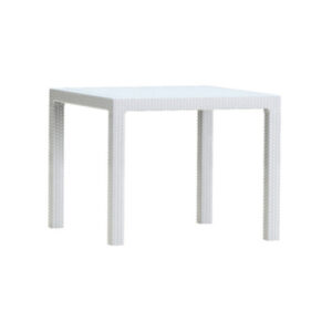 tavolo melody bianco resina antiurto